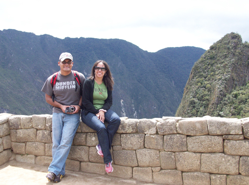 Machu Picchu 2010 – Carlos and Marisol